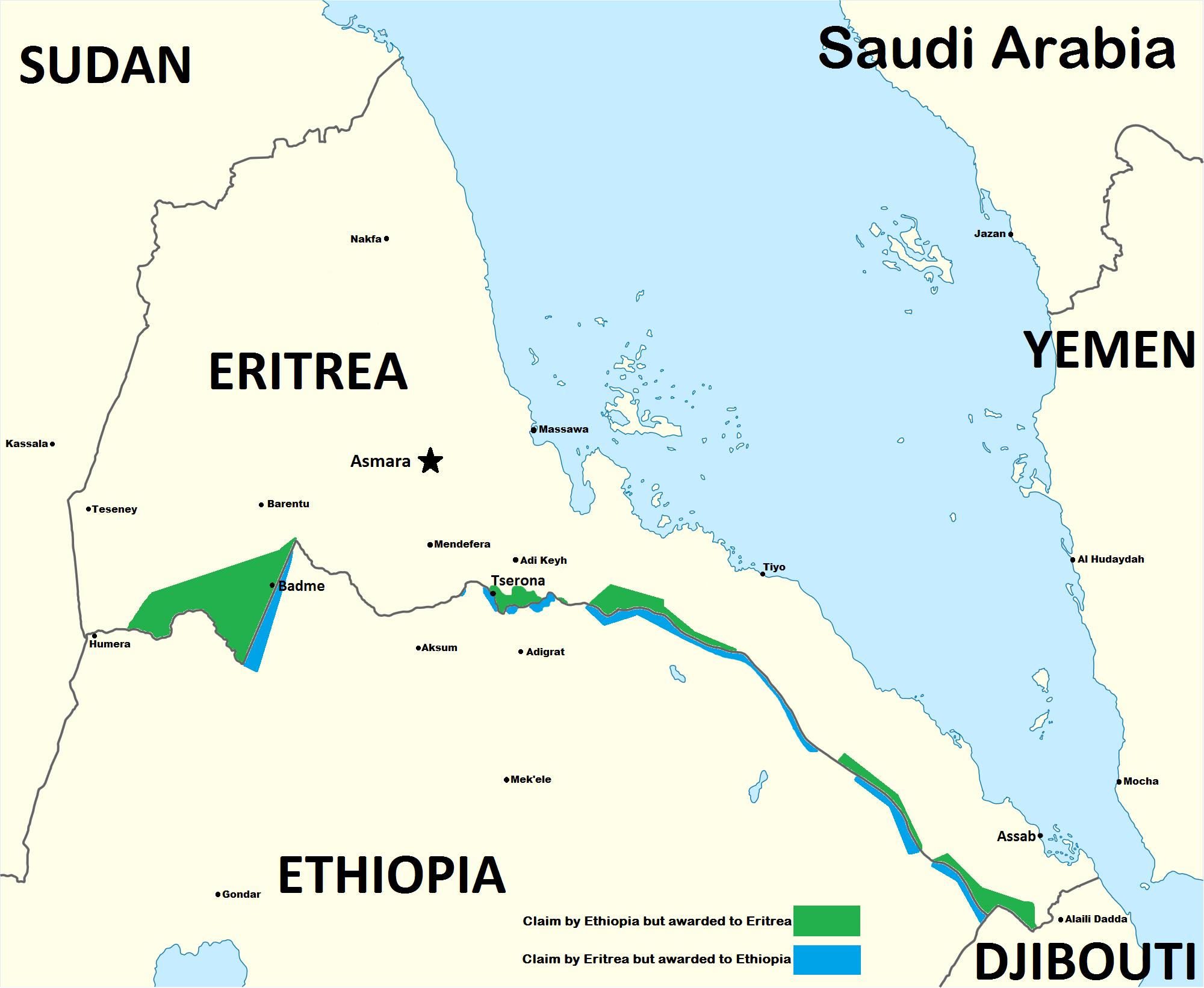 Eritrean–Ethiopian_War_Map_1998